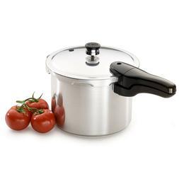 Presto 01264 6-Quart Aluminum Pressure Cooker 6 qt NEW