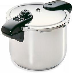 Presto 01370 8-Quart Stainless Steel Pressure Cooker Cook he