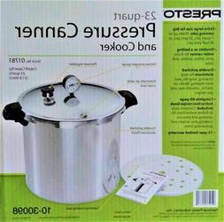 Presto 01781 23-Quart Aluminum Pressure Canner and Cooker