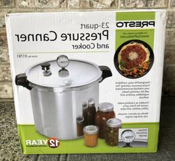Presto 01781 23-Quart Pressure Canner and Cooker New Sealed
