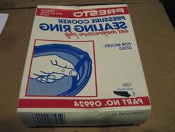 Presto 09924 Pressure Cooker Sealing Ring/Overpressure Plug