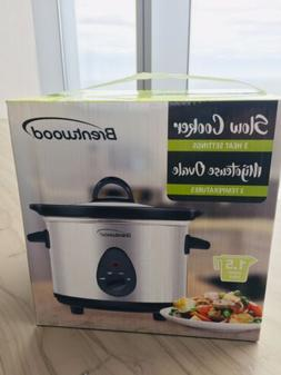 Brentwood 1.5 Qt Slow Cooker - New In Box - Perfect Size