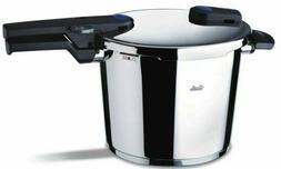 Fissler 10.6qt Vitaquick Pressure Cooker w/Perforated Insert