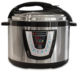10-in-1 PressurePro 10 Qt Pressure Cooker - Multi-Use Progra
