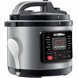 GoWISE USA 12-in-1 Electric High-Pressure Cooker, Canner wit