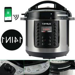 1000W 6QT 14-IN-1 Electric Digital Multifunction Pressure Co