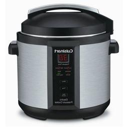 1000W 6qt. Pressure Cooker Brushed Stainless Steel Cuisinart