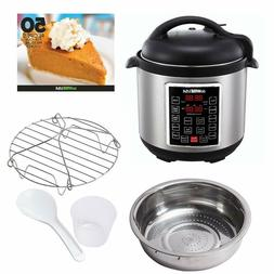 12-In-1 Muti-Use Pressure Cooker Programmable Instapot 6 Qt