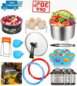12 Pieces Pressure Cooker Accessories Set Fit Compatible wit