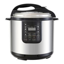 1200W 8QT Digital Pressure Cooker Electric Multifunction Sta