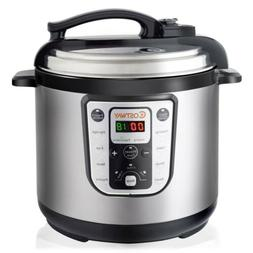 1250W 8 Quart Electric Pressure Cooker Programmable Multi-Us