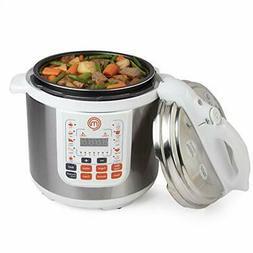 13-in-1 Pressure Cooker- 6 QT Electric Digital MultiPot W Pr