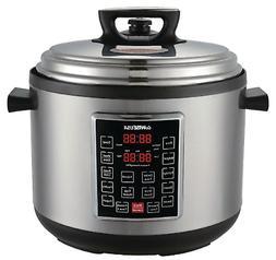 14 Qt. Electric Pressure Cooker XXL 12 Presets Durable New S