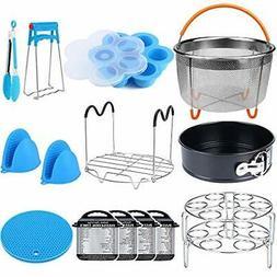 15 Pieces Pressure Cooker Accessories Set Compatible W Insta
