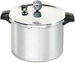 16 Qt. Pressure Cooker Aluminum with Lid, Dial Gauge and Coo