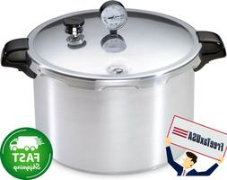 16-Quart Aluminum Canner Pressure Cooker, One Size, Silver