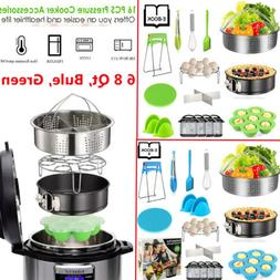 16Pcs Instant Pot Accessories Set 6 qt 8 Quart Pressure Cook