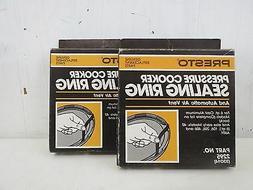 2 Packs Of New Presto Pressure Cooker Sealing Rings Tan Part
