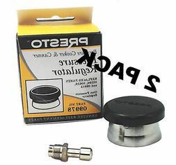2 Pk, Presto Pressure Cooker Canning Regulator Kit, 85485