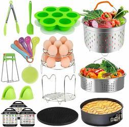 20 Pcs Pressure Cooker Accessories Set Fit Instant Pot 6 qt