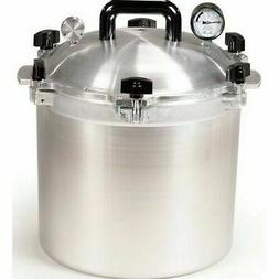 All American 921 21.5 Qt Heavy Cast Aluminum Pressure Cooker