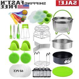 23 Pcs Pressure Cooker Accessories Set Compatible Instant Po