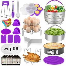 23 Pieces Accessories for Instant Pot 6,8 Qt, Pressure Cooke