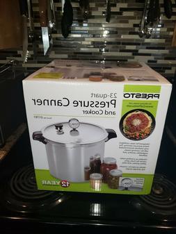 Presto 23-Quart Pressure Canner And Cooker Brand New Origina