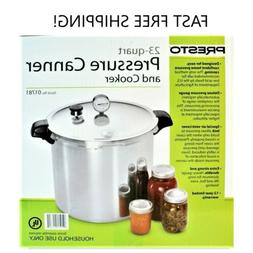 23 quart pressure canner cooker 0178 new