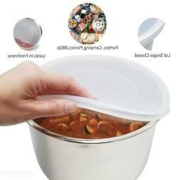 24CM Silicone Lid Fresh Cover Bowl Lids for 5/6 Quart Electr