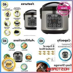 2Qt Pressure Cooker Slow.Mini Crock Pot Instant Small Aroma