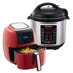 GoWISE USA 3.7-Quart 8-in-1 Digital Touchscreen Air Fryer  +