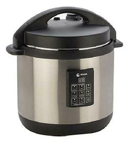 Fagor 3-in-1 6-Quart Multi-Use Pressure Cooker, Slow Cooker