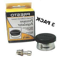 3 Pk, Presto Pressure Cooker Canning Regulator Kit, 85485