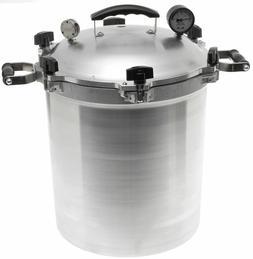 All American 930 30 Qt Heavy Cast Aluminum Pressure Cooker /