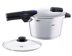 Fissler 4.8 quart Vitaquick Pressure Cooker with Glass Lid S