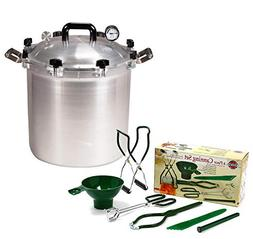 All American 41.5 QT Pressure Cooker Bundle with 2 Racks and