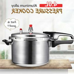 4L Aluminum Pressure Cooker Family Kitchen Tool Cooker Gas C