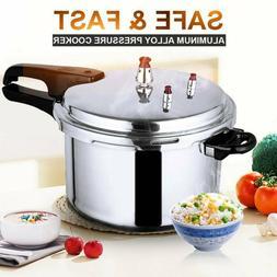 5.3-Quart Aluminum Pressure Cooker Fast Cooker Cookware Kitc