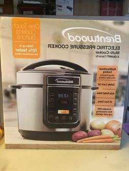 5 Quart Brentwood Electric Pressure Cooker - Multifunctional