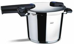 Fissler 6.4qt Vitaquick Pressure Cooker w/Perforated Insert,