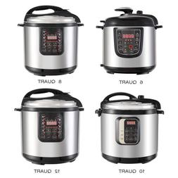 6/8/10/12QT Digital Multifunction Stainless Steel Electric P