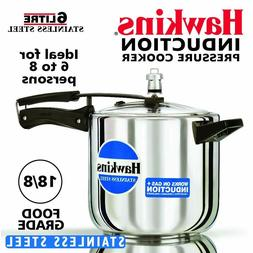 Hawkins Induction 6 liter Stainless Steel Pressure Cooker ex