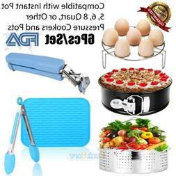 6 Pcs Instant Pot Accessories Kit Pressure Cooker Accessorie