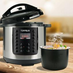 SMART HOME 1000W 6-Quart Electric Pressure Cooker 14-in-1 Mu