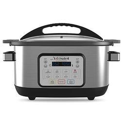 Instant Pot 6 Qt Aura Multi-Use Programmable Multicooker, Si