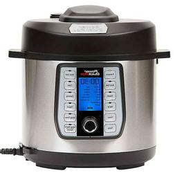 Power Quick Pot 6 qt. Electric Pressure Cooker, Sous Vide, S