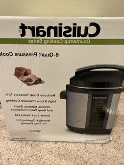 Cuisinart 6 Qt  Electric Pressure Cooker Countertop Cooking