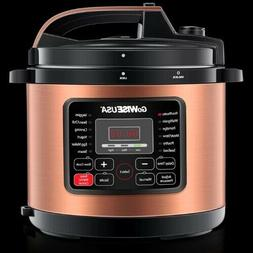 6 Qt. Electric Pressure Cooker with 12 Presets