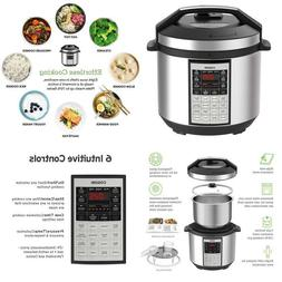 Cosori 6 Qt Premium 8-In-1 Programmable Multi-Cooker Pressur